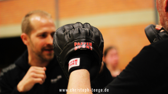Christoph Teege, Boxen lernen, Boxen anfangen