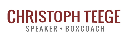 Christoph Teege - Speaker + Boxcoach