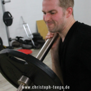 Trainingsschmerz, Christoph Teege