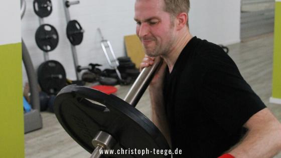 Trainingsschmerz, Christoph Teege