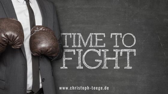 Einstellung ändern, Christoph Teege, Boxen statt Mimimi